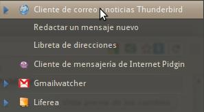 Thunderbird MeMenu